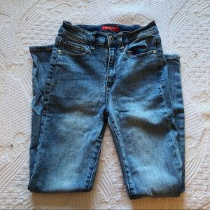 guess high waisted skinny jeans